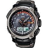 Casio Men's PAW5000-1 Pathfinder Solar Power Blue Dial Watch