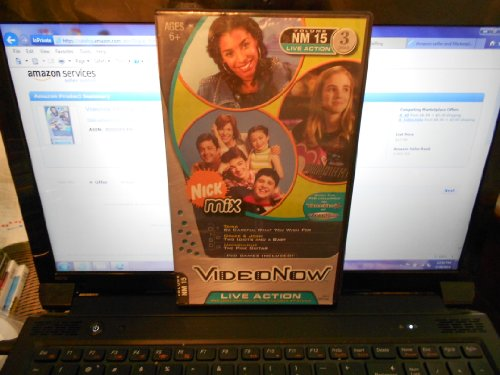 Videonow Personal Video Disc 3-Pack: Nick Mix #15