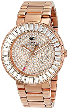 buy Juicy Couture Women'S 1901183 Grove Analog Display Quartz Rose Gold Watch