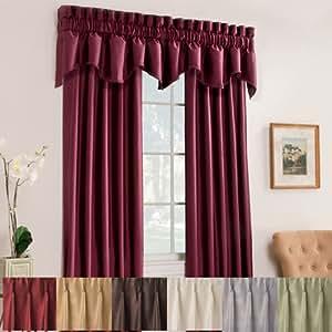 "Amazon.com: Victoria Pinch Pleat Panel - 50""x63"" Panel - Sliver: Home"
