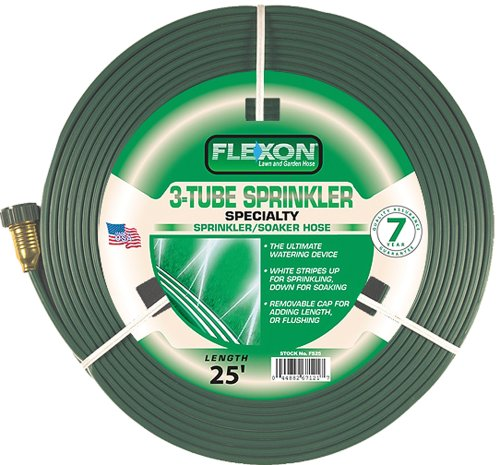 Flexon 25-Foot Three Tube Sprinkler Hose FS25 (Sprinkling Hose compare prices)