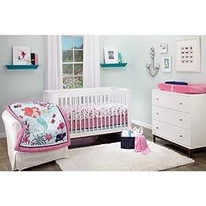 Amazon.com : 4pc Baby Girl Pink Disney Princess Little Mermaid Ariel