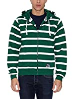 THE INDIAN FACE Sudadera con Cierre (Verde)