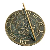 Rome RM2311 Brass Gothic Sundial
