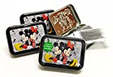 Cotton Buds Cotton Swab Tins, Mickey and Minnie, 4 Count