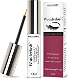 Eyelash Growth Serum - WonderLash - Cutting Edge Myristoyl Pentapeptide-17 & Swiss Apple Stem Cells Based Eyelash Growth Enhancer - Dermatologist Tested and Allergy Tested, the Eyelash Serum Utilizes Hi-Tech Methods to Help Thicken, Grow Back, & Darken Your Eyelashes & Brows. WonderLash Eyelash Grower Prevents Thinning & Breakage and Helps Promote Long Term Vitality & Strength - 2.5ml Lasts 3 Months - Buy with Complete Confidence Now!