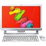 東芝 dynabook DZ71/TW 東芝Webオリジナルモデル (Windows 10 Home/Office Home and Business Premium プラス Office 365 サービス /21.5型/IPS液晶/液晶一体型AVPC/core i7/リュクスホワイト) PDZ71TW-BWA