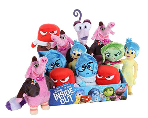 Inside Out Peluche pupazzo Pluch Figures 18 cm Display (12)