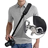 Rapid Fire™ Quick Release Sling Shoulder Neck Strap by Altura Photo for DSLR Camera (For Canon Nikon Sony Olympus Pentax and More)