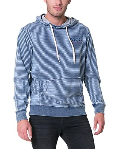 BIG STAR Sudadera con Capucha Teakdown_Hood_Sweat Azul