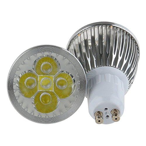 Cozyswan®New Cool White Energy Saving 5W 5X1W Gu10 Led Spotlight Bulb 110V, Pack Of 10