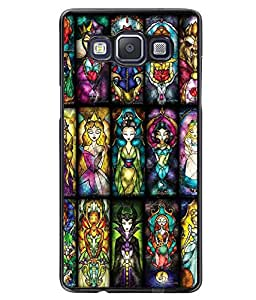 Printvisa 2D Printed Girly Designer back case cover for Samsung Galaxy A5 SM - A500F - D4591