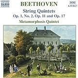Beethoven: String Quintets Op. 1, No. 2, Op. 11 and Op. 17