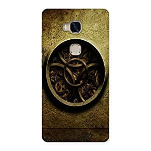 Ajay Enterprises circel design Back Case Cover for Huawei Honor 5X