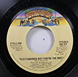 Stallion 45 RPM Old Fashioned Boy (You're the One) / Woman