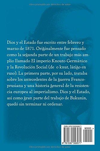Dios y el Estado (Spanish Edition)