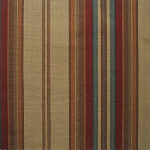 carlton stripe cardinal red multi 84 inch