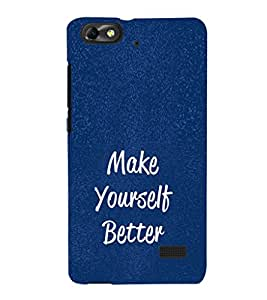 Ebby Premium Printed Mobile Back Case Cover With Full protection For Huawei Honor 4C (Designer Case)
