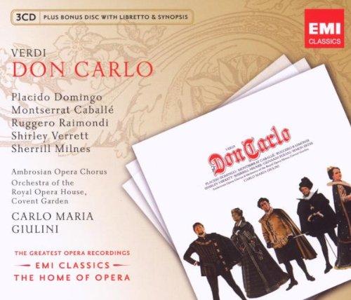 Don Carlo (Giuliani-Domingo-Caballe) – Verdi – CD