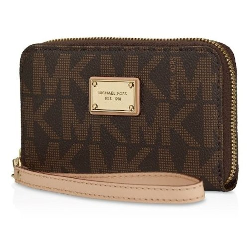 82f15d7efd3d Ʊ MICHAEL Michael Kors Women's Exclusive Saffiano Leather Multi Function  iPhone 5 / 4/4S
