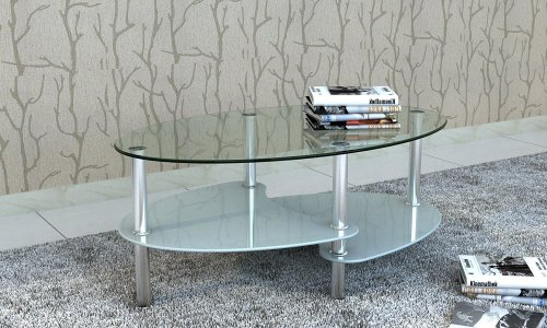 Table basse blanc ovale pas cher - Table basse original pas cher ...