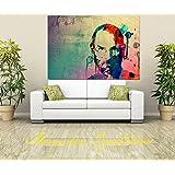 Canvas Original Steve Job Art Digital Print, Portrait, Abstract Art, Wall Hanging , Gift Ideas, Modern Art (36X24...