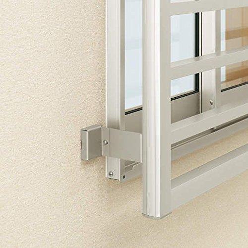 YKKAPオプション 窓まわり 面格子 高強度面格子FLA:壁付ブラケット[出幅90mm] [B1]ブラウン