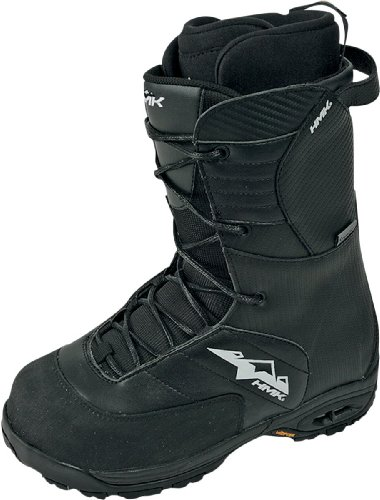 HMK Team Lace Boots , Distinct Name: Black, Size: 9, Gender: Mens/Unisex, Primary Color: Black HM909TB