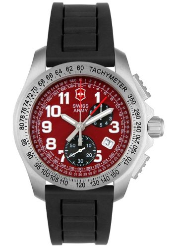 Victorinox Swiss Army Men's 241089 Ground Force Collection Chronograph Stainless Steel Watch