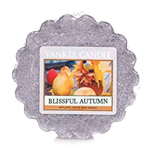 Blissful Autumn Wax Tart by Yankee Candle