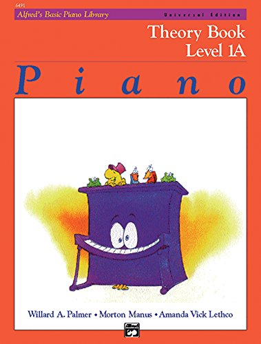 Alfred's Basic Piano Course Theory, Bk 1a: Universal Edition (Alfred's Basic Piano Library)