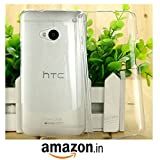 Paybydaddy® Ultra Thin 0.3mm Clear Transparent Flexible Soft TPU Slim Back Case Cover For HTC M7 | Slim And Form...