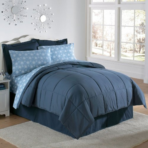Brylane Home Down Alternative Comforter (HUNTER,QUEEN) 