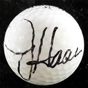 Jay Haas Autographed Hand Signed Top Flite Golf Ball PSA DNA #Q18924 by Hall of Fame Memorabilia