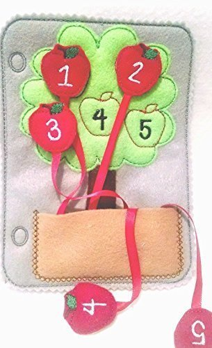 Number-Counting-apple-felt-quiet-book-page-46