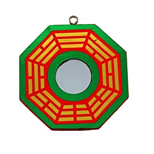 ADD Feng Shui - Miroir pa Kua traditionnel plat - 12cm 51%2BdZHu3OvL._SL500_AA300_