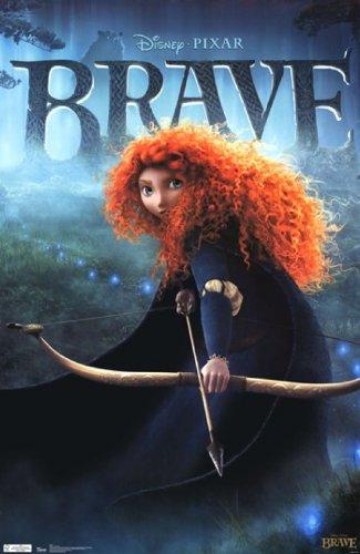 Disney Brave Movie Cover Poster Print (24 x 36)