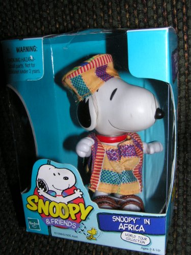 Peanuts World Tour Collection Snoopy In Africa Poseable Figure 1999 front-894942