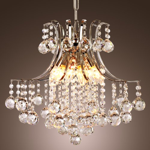 LightInTheBox Modern Crystal Chandelier with 6 Lights
