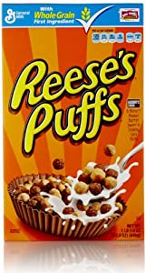 Reeses Puffs Cereal, Peanut Butter, 22.9 Ounce