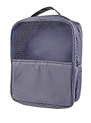 My Gift Booth Nylon Gym-Shoe Bag, Navy Blue