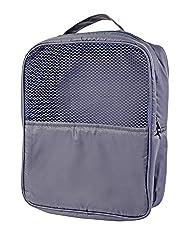 My Gift Booth Nylon Gym-Shoe Bag, Navy Blue