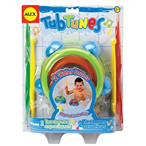 Amazon.com: Alex Tub Tunes Water Drums: Toys & Games