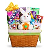 Amazing Traditional Easter Basket with Plush Bunny