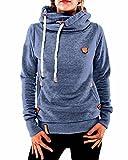 ZANZEA Winter Damen Hoodies Pullover Langarm Jacke Top Sweatshirt Pullover Tops Jumper Bild