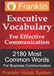 Franklin Executive Vocabulary for Eff...