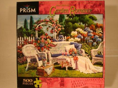 "GARDEN ROMANCE 500 PIECE JIGSAW PUZZLE 19"" X 14"" - 1"