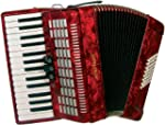 Scarlatti S48 48 Bass Accordion - Red
