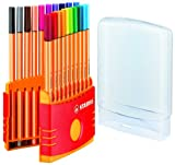 Stabilo point88 Colorparade Desk Set Containing 20 Colours