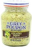Grey Poupon Mustard Jar, Country Dijon, 8 Ounce